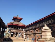 Πλατεία Durbar Bbaktapur στοκ φωτογραφία