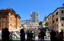 πλατεία espagna δ στοκ εικόνα