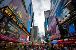 Πλατεία New York Times Στοκ φωτογραφία με δικαίωμα ελεύθερης χρήσης