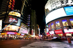 Πλατεία New York Times Στοκ Φωτογραφία