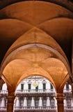 πλατεία s SAN τετραγωνικό ST Βενετία σημαδιών marco της Ιταλίας Στοκ εικόνες με δικαίωμα ελεύθερης χρήσης