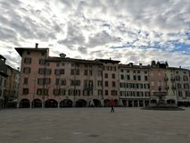 Πλατεία SAN Giacomo Udine Στοκ εικόνα με δικαίωμα ελεύθερης χρήσης