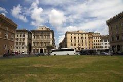 Πλατεία Venezia στη Ρώμη, Ιταλία Στοκ εικόνα με δικαίωμα ελεύθερης χρήσης
