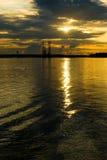 πλατφόρμα άντλησης πετρελαίου εξερεύνησης Στοκ εικόνες με δικαίωμα ελεύθερης χρήσης