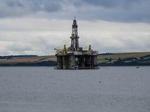 Πλατφόρμα άντλησης πετρελαίου σε Invergordon, Σκωτία στοκ εικόνες με δικαίωμα ελεύθερης χρήσης