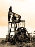 πλατφόρμα άντλησης πετρελαίου Στοκ φωτογραφίες με δικαίωμα ελεύθερης χρήσης