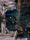 πλατφόρμα άντλησης πετρε&lambda Στοκ φωτογραφίες με δικαίωμα ελεύθερης χρήσης
