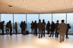 Πλατφόρμα παρατήρησης πύργων ΣΟ στο Τορόντο, Καναδάς Στοκ φωτογραφίες με δικαίωμα ελεύθερης χρήσης