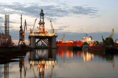 πλατφόρμα πετρελαίου Στοκ φωτογραφία με δικαίωμα ελεύθερης χρήσης