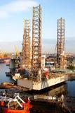 πλατφόρμα πετρελαίου Στοκ εικόνες με δικαίωμα ελεύθερης χρήσης