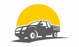 Πλαϊνό μοναδικό transportion λογότυπων αυτοκινήτων Στοκ εικόνα με δικαίωμα ελεύθερης χρήσης