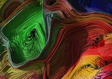 Πλεγμένο ζωηρόχρωμο fractal γραμμών υπόβαθρο r στοκ φωτογραφίες