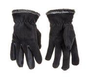 Πλεκτά μάλλινα γάντια μωρών Στοκ εικόνα με δικαίωμα ελεύθερης χρήσης