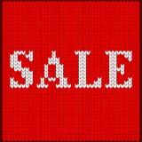 Πλεκτή λέξη πώλησης Στοκ φωτογραφία με δικαίωμα ελεύθερης χρήσης