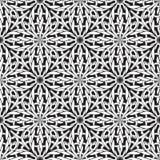 Πλεκτό άνευ ραφής σχέδιο Διανυσματικό γραπτό διακοσμητικό πλεγμένο υπόβαθρο Κατασκευασμένο μονοχρωματικό σκηνικό Περίπλοκος πλέξτ απεικόνιση αποθεμάτων