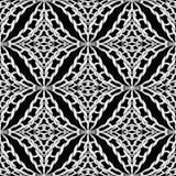 Πλεκτό άνευ ραφής σχέδιο Διανυσματικό γραπτό διακοσμητικό πλεγμένο υπόβαθρο Κατασκευασμένο μονοχρωματικό σκηνικό Περίπλοκος πλέξτ ελεύθερη απεικόνιση δικαιώματος