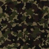 Πλεκτό άνευ ραφής σχέδιο κάλυψης Το σχέδιο μόδας για την κάλυψη και το στρατιωτικό ύφος πλέκουν τα ενδύματα απεικόνιση αποθεμάτων