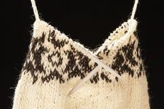 πλεκτό πουλόβερ στοκ φωτογραφία