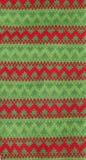 Πλεκτό Χριστούγεννα πρότυπο Στοκ Φωτογραφίες