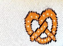 Πλεκτό pretzel Στοκ φωτογραφία με δικαίωμα ελεύθερης χρήσης