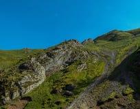 Πλευρά βουνών στοκ εικόνες