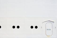 πλευρά σκαφών Στοκ εικόνα με δικαίωμα ελεύθερης χρήσης