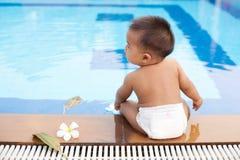 Πλευρά συνεδρίασης μωρών της λίμνης στοκ φωτογραφίες με δικαίωμα ελεύθερης χρήσης