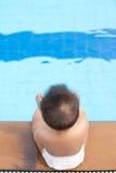 Πλευρά συνεδρίασης μωρών της λίμνης Στοκ Φωτογραφίες