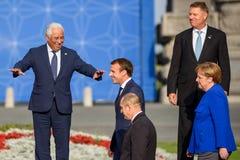 Πλευρά του Antonio, πρωθυπουργός της Πορτογαλίας Λ Στοκ εικόνες με δικαίωμα ελεύθερης χρήσης