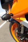 πλευρά superbike Στοκ φωτογραφία με δικαίωμα ελεύθερης χρήσης