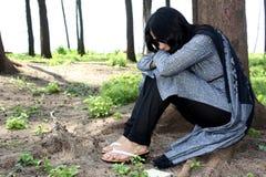 πληγωμένη ινδική κυρία Στοκ εικόνες με δικαίωμα ελεύθερης χρήσης