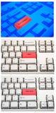 πληκτρολόγια Στοκ εικόνα με δικαίωμα ελεύθερης χρήσης