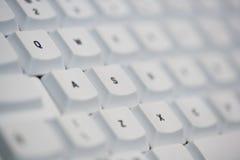 πληκτρολόγιο εστίασης &upsi Στοκ εικόνα με δικαίωμα ελεύθερης χρήσης