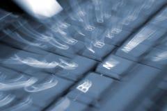 πληκτρολόγιο θαμπάδων Στοκ εικόνα με δικαίωμα ελεύθερης χρήσης