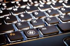 Πληκτρολόγιο της Microsoft Στοκ Εικόνα