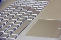 Πληκτρολόγιο υπολογιστών με τα κλειδιά και τις επιστολές στοκ φωτογραφία με δικαίωμα ελεύθερης χρήσης