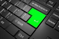 πληκτρολόγιο υπολογι&si Στοκ εικόνα με δικαίωμα ελεύθερης χρήσης