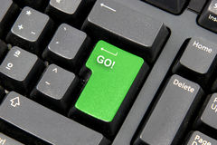 πληκτρολόγιο υπολογι&si Στοκ Εικόνα