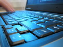 πληκτρολόγιο υπολογι&si Στοκ εικόνες με δικαίωμα ελεύθερης χρήσης