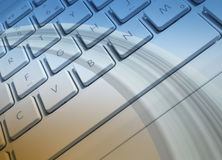 Πληκτρολόγιο lap-top ελεύθερη απεικόνιση δικαιώματος