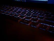 Πληκτρολόγιο Luminated στοκ φωτογραφία με δικαίωμα ελεύθερης χρήσης