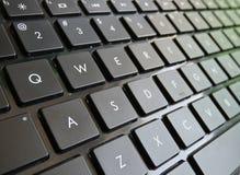Πληκτρολόγιο Qwerty Στοκ φωτογραφία με δικαίωμα ελεύθερης χρήσης