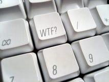 πληκτρολόγιο wtf Στοκ φωτογραφίες με δικαίωμα ελεύθερης χρήσης