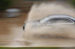 πλημμυρισμένος δρόμος Στοκ εικόνα με δικαίωμα ελεύθερης χρήσης