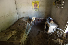 πλημμυρισμένο δωμάτιο στοκ φωτογραφίες