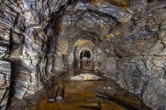 Πλημμυρισμένο παλαιό ορυχείο χρυσού στοκ εικόνα