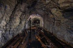 Πλημμυρισμένο παλαιό ορυχείο χρυσού στοκ φωτογραφίες με δικαίωμα ελεύθερης χρήσης