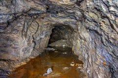 Πλημμυρισμένο παλαιό ορυχείο χρυσού στοκ εικόνες με δικαίωμα ελεύθερης χρήσης