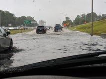 Πλημμύρα εθνικών οδών στοκ φωτογραφίες