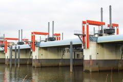 πλημμύρα ελέγχου Στοκ εικόνα με δικαίωμα ελεύθερης χρήσης